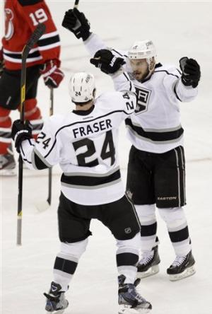 Kopitar's OT goal lifts Kings over Devils 2-1