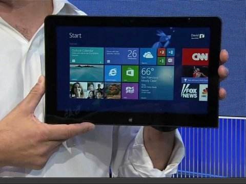 Microsoft Build Event Lenovo Tablet