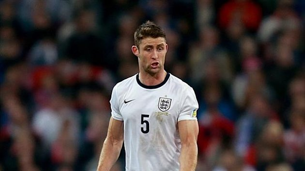 Gary Cahill believes England are solid defensively