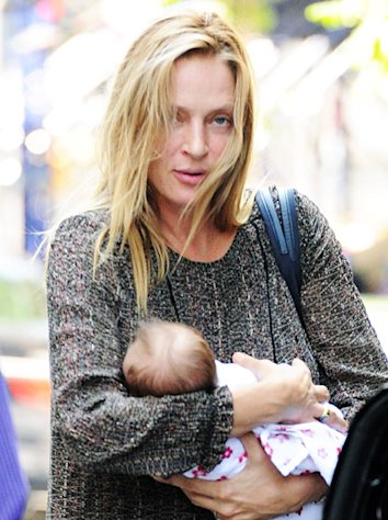 Uma Thurman Reveals Daughter&#39;s Long Full Name
