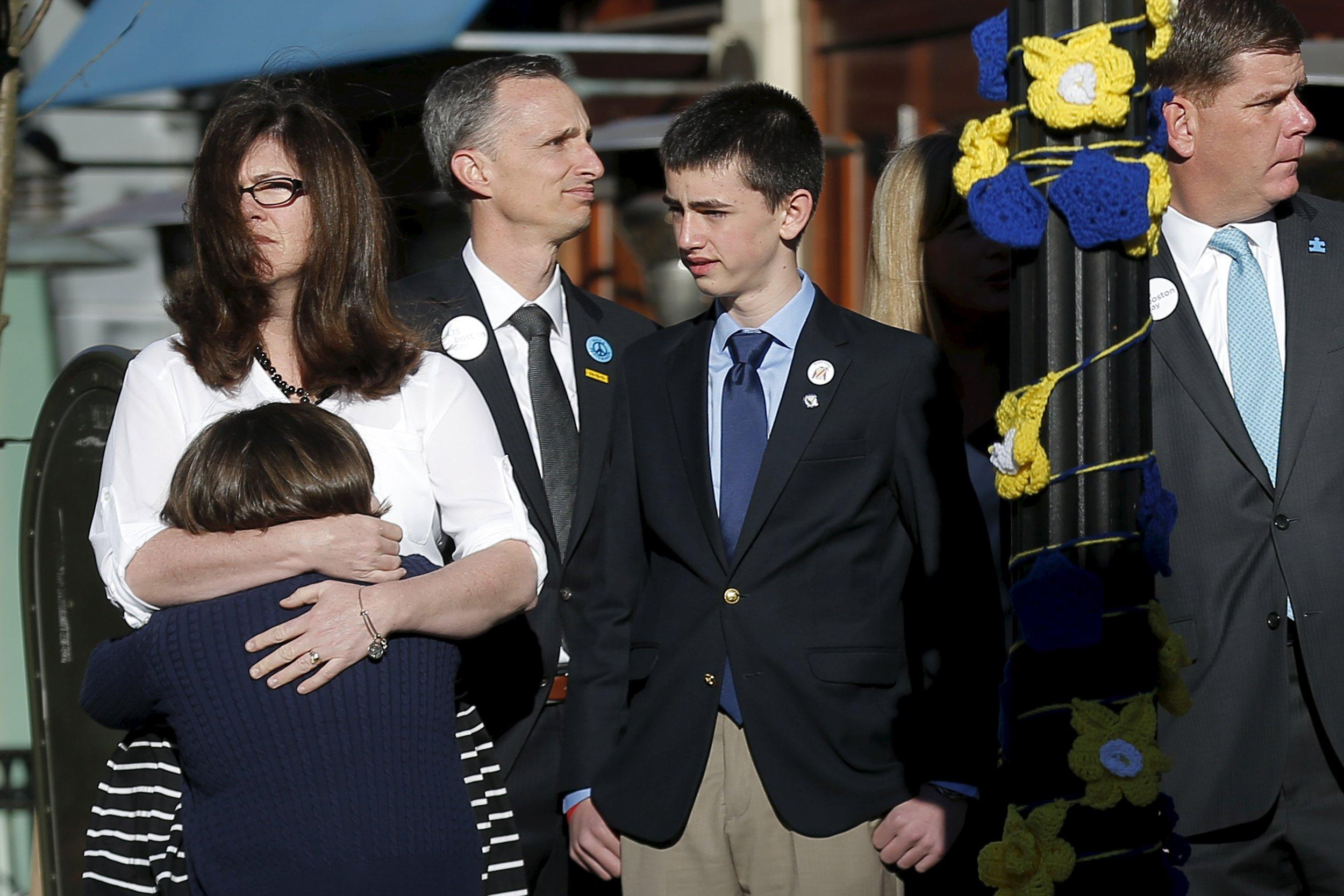 Parents of youngest Boston Marathon bombing victim want death penalty 'off the table' for Tsarnaev