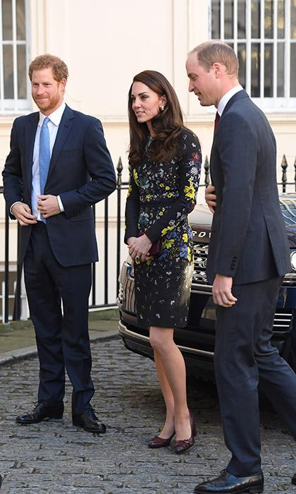 Kate Middleton looks ready for spring in Erdem at Heads Together engagement