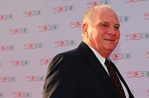 Hoeness admits to evading 18.5 million euros in taxes