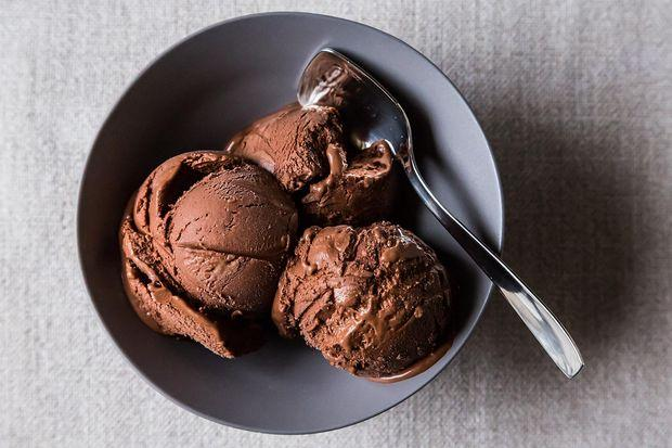 Naked Chocolate Ice Cream