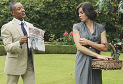 Giancarlo Esposito, Lana Parrilla  | Photo Credits: Jack Rowland/ABC