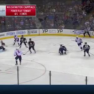 Sergei Bobrovsky Save on John Carlson (02:03/3rd)