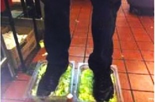 Dude, get your feet off my greens