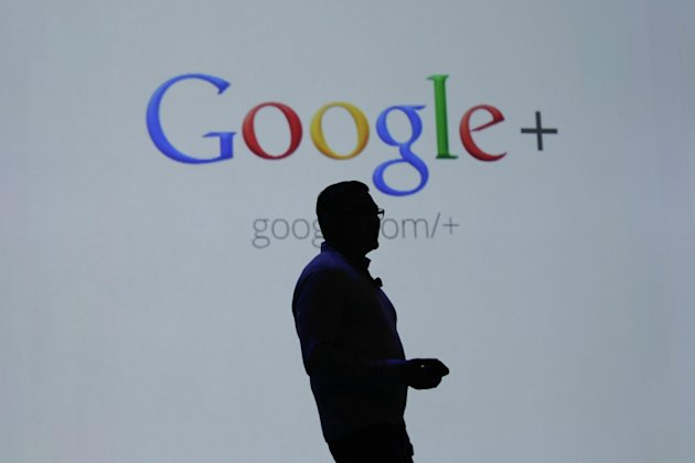 "FILE- In this Wednesday, June 27, 2012, file photo, Vic Gundotra, Google Senior Vice President of Engineering, talks about Google Plus at the Google I/O conference in San Francisco. Google is phasing out its ""iGoogle"" service that allows millions of people to personalize its home page with applications such as weather updates and stock quotes. (AP Photo/Paul Sakuma, File)"