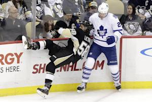Penguins rally past Maple Leafs 6-5 in shootout