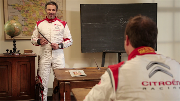 WTCC - Loeb & Muller at school – Making of
