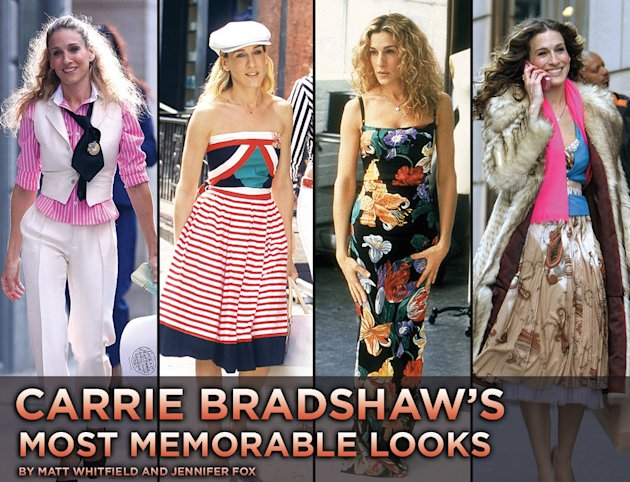 Carrie Bradshaw looks gallery 2010 Title Card