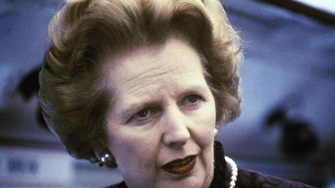 "This is a 1969 file photo showing Margaret Thatcher. Ex-spokesman Tim Bell says that former British Prime Minister Margaret Thatcher has died. She was 87. Bell said the woman known to friends and foes as ""the Iron Lady"" passed away Monday morning, Aprilo 8, 2013. (AP Photo/File)"