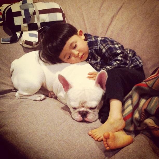 Cute Alert: Boy and His Dog Are Inseparable