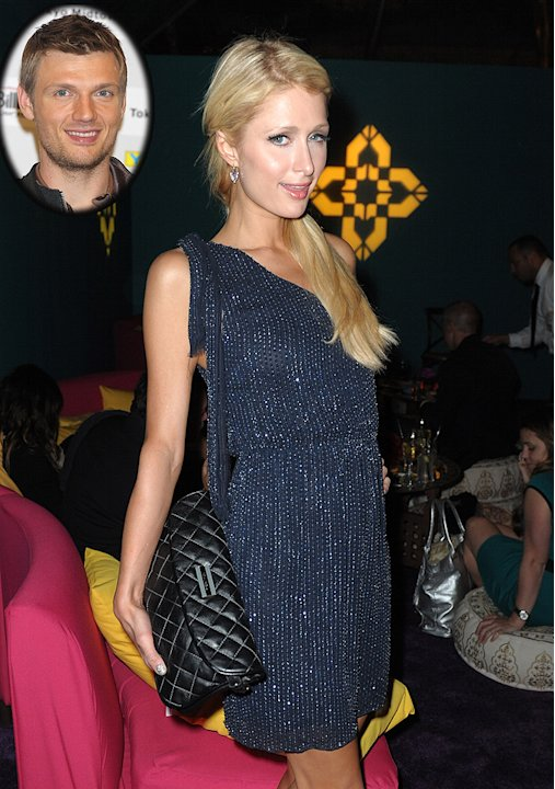 Nick Carter, Paris Hilton