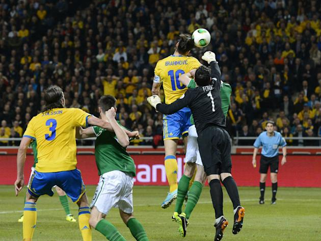 Sweden 0-0 Rep of Ireland