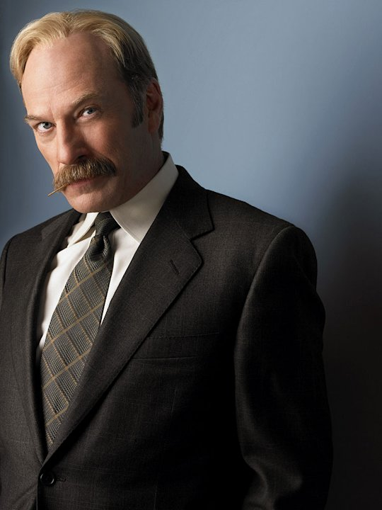 Ted Levine stars as Captain Leland Stottlemeyer in Monk on the USA Network.