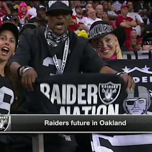 Relocating to St. Louis, San Antonio a possibility for Oakland Raiders