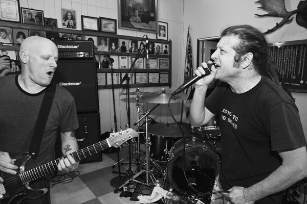 Ex-Black Flag Members Play Secret Gig at Moose Lodge