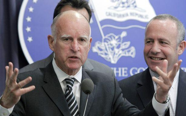 Jerry Brown Won't Let a Little Cancer Slow Him Down