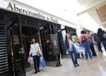 Abercrombie & Fitch store: Credit Reuters