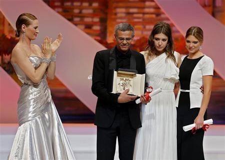 Una historia francesa de amor lésbico gana el principal premio en Cannes
