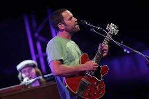 Musician Jack Johnson performs during his concert as part of his To The Sea tour in Brasilia