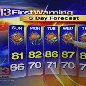 Bob Turk Has Your Saturday Overnight Forecast