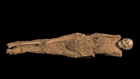 Christian Ink: Mummy's 1,300-Year-Old Thigh Tattoo Revealed