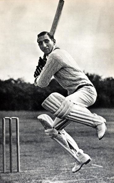 Sport. Cricket. pic: circa 1940's. Nawab of Pataudi, (Iftikhar Ali Khan) 1910-1952, who played in England for Oxford University 1928-1931 and Worcestershire 1932-1938. He captained his native coun