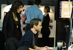 Annie Parisse and Shawn Ashmore | Photo Credits: Fox