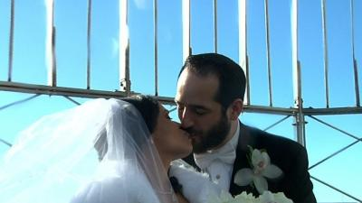 Couples Marry at Empire State Building