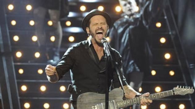 Tony Lucca performs on NBC's 'The Voice' -- NBC