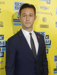 "Joseph Gordon-Levitt arrives at a screening of ""Don Jon's Addiction at the SXSW Film Festival, on Monday, March 11, 2013 in Austin, Texas. (Photo by Jack Plunkett/Invision/AP Images)"
