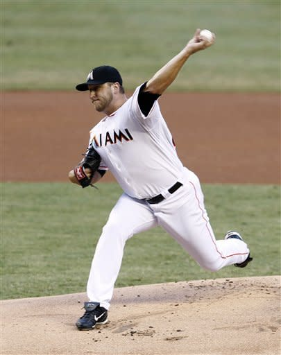 Buchholz outduels Buehrle, Red Sox edge Marlins