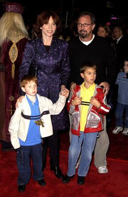 Marilu Henner and family at the Westwood premiere of Warner Brothers' Harry Potter and The Sorcerer's Stone