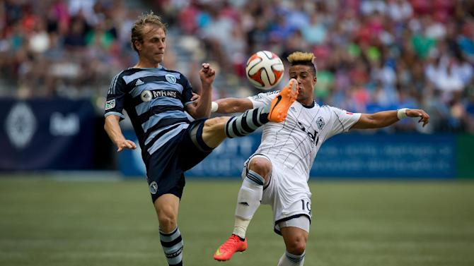 Mattocks scores, Whitecaps beat Sporting KC 2-0