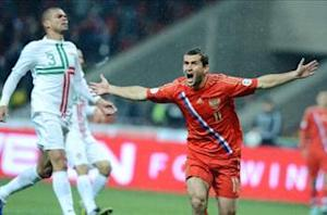 Russia 1-0 Portugal: Kerzhakov leaves Ronaldo and Co. reeling