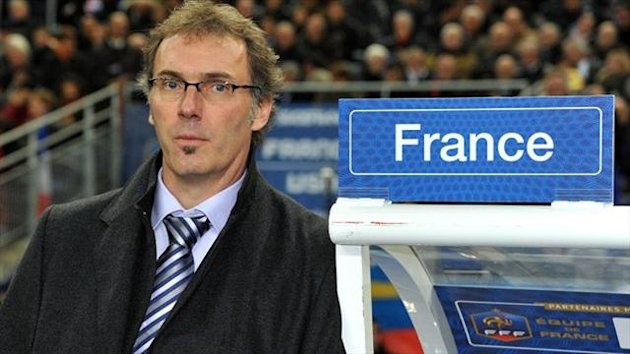 Laurent Blanc, pictured, is expected to succeed Carlo Ancelotti as PSG manager