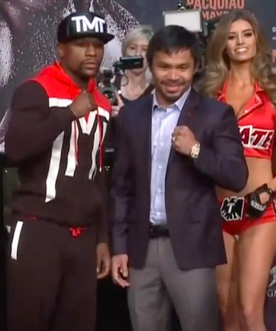 """Mayweather vs. Pacquiao: """"Fight of the Century"""""""