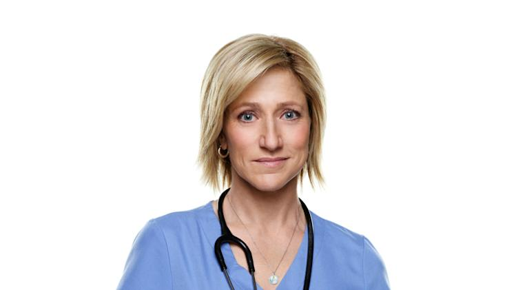 "Edie Falco as Jackie Peyton in ""Nurse Jackie."""