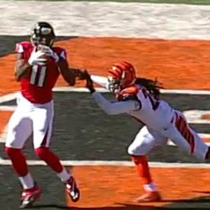 NFL NOW: Atlanta Falcons wide receiver Julio Jones vs. Tampa Bay Buccaneers cornerback Alterraun Verner