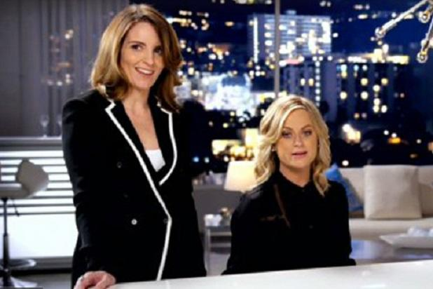 Tina Fey and Amy Poehler Seduce Your Ears With New Golden Globes Promo (Video)