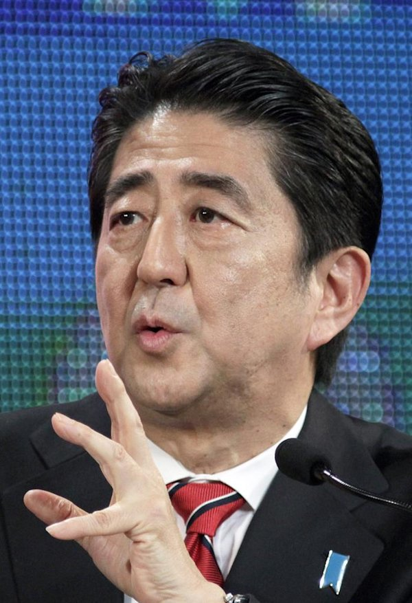 , Japan, 29 November 2014. Abe decided to put off the tax increase ...