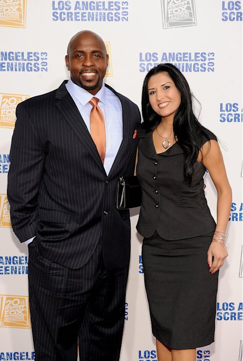 Christopher M. Holley, left, and Nila Najand arrive at Twentieth Century Fox Television Distribution's 2013 LA Screenings Lot Party on Thursday, May 23, 2013 in Los Angeles, California. (Photo by Fran