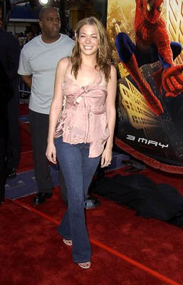 Premiere: LeAnn Rimes at the LA premiere of Columbia Pictures' Spider-Man - 4/29/2002 