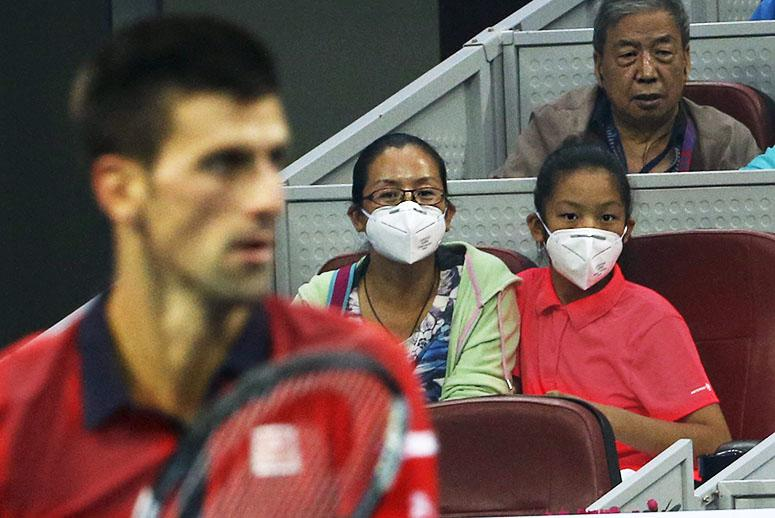 Beijing Serves Up Toxic Smog to World's Tennis Stars