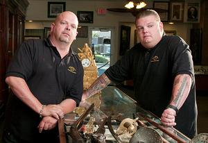 Rick Harrison and Corey Harrison | Photo Credits: History