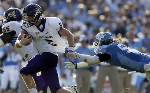 North Carolina defeats East Carolina 27-6