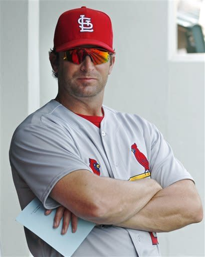 Cards' Wainwright's return to mound a success
