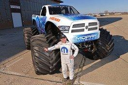 Mopar Introduces 'Mopar Muscle': First New Monster Truck in More Than a Decade